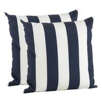 Striped Poly Filled Pillow Cover