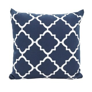 Moroccan Tile Poly Filled Throw Pillow