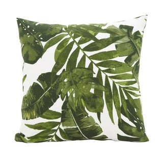 Lush & Leafy Poly Filled Throw Pillow