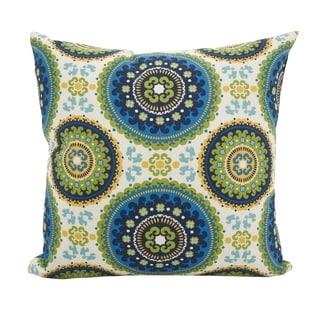 Kaleidoscope Medallion Throw Pillow