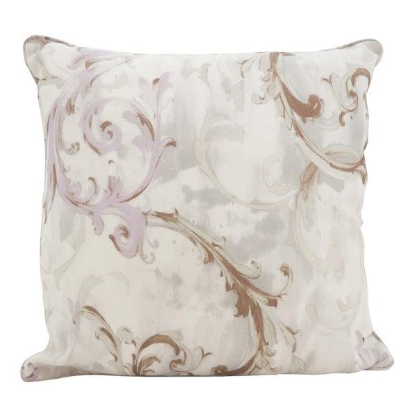 Baroque Strokes Down Filled Throw Pillow