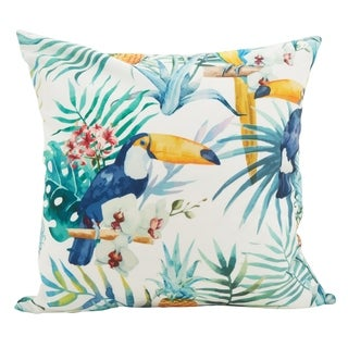 Toucan Square Statement Poly Filled Throw Pillow