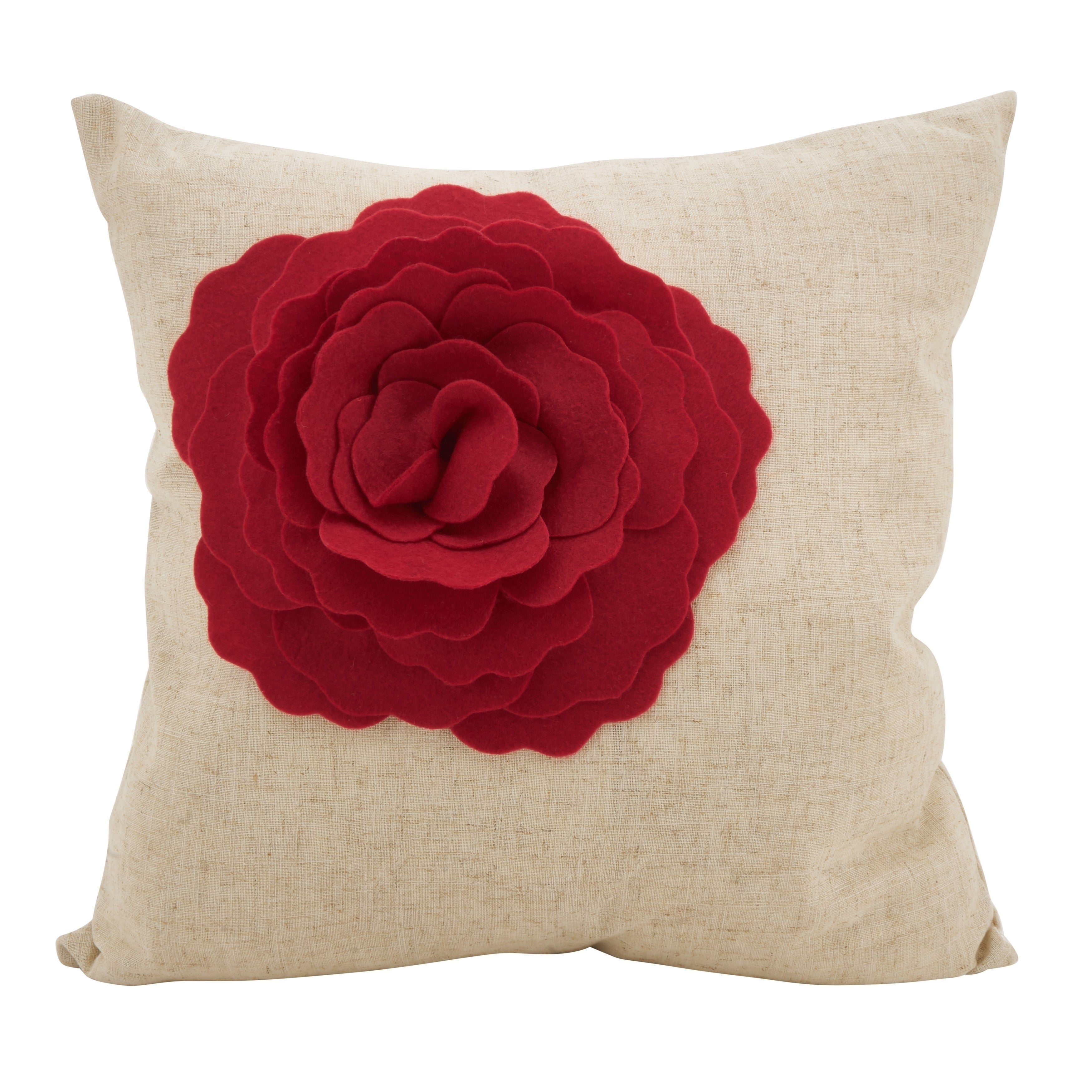 Red Fl Throw Pillows Online At Our Best Decorative Accessories Deals