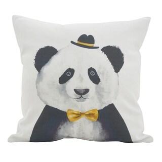 Fancy Panda Throw Pillow