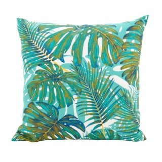 Island Palms Poly Filled Throw Pillow