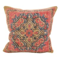 Bohemian Mosaic Down Filled Throw Pillow