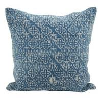 Distressed Design Boho Down Filled Throw Pillow