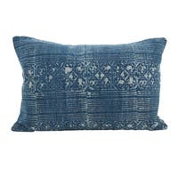 Distressed Boho Down Filled Throw Pillow