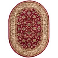 Well Woven Gwalia Traditional French Oriental Oval Rug - 5' 3 x 6' 10