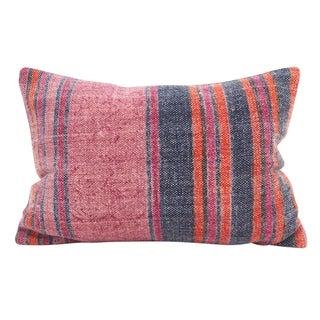 Boho Stripes Down Filled Throw Pillow