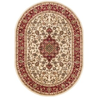 "Well Woven Gwalia Traditional Persian Medallion Oval Rug - 5'3"" x 6'10"""