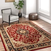 Well Woven Gwalia Traditional Persian Medallion Area Rug (9'3 x 12'6)