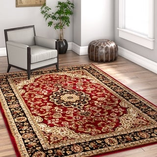 Well Woven Gwalia Traditional Persian Medallion Area Rug - 5'3 x 7'3