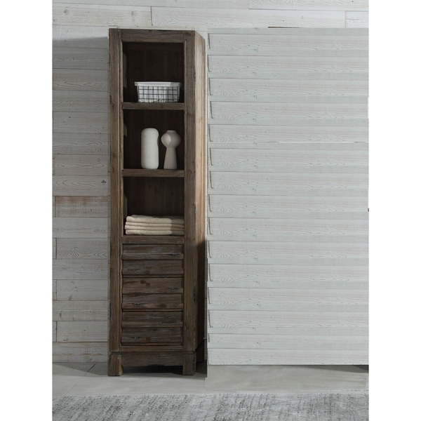 20 in.Floor Cabinet in Brown