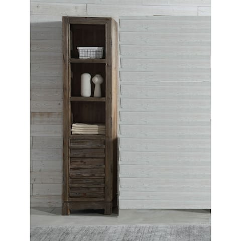 20 in.Floor Cabinet in Brown