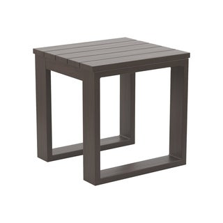 Signature Design by Ashley Cordova Reef Brown Outdoor Square End Table
