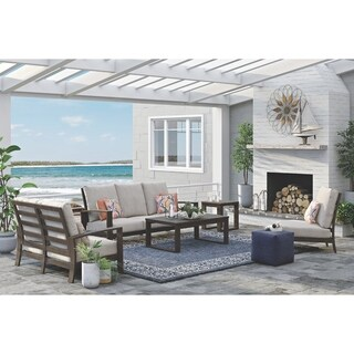 Signature Design by Ashley Cordova Reef Beige Outdoor Sofa