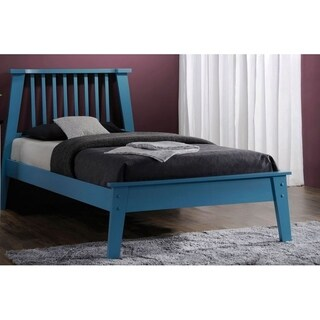 Merlin Blue Finish Bed