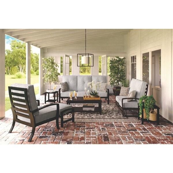 Ashley Home Furniture Ad: Shop Castle Island Gray Outdoor Sofa