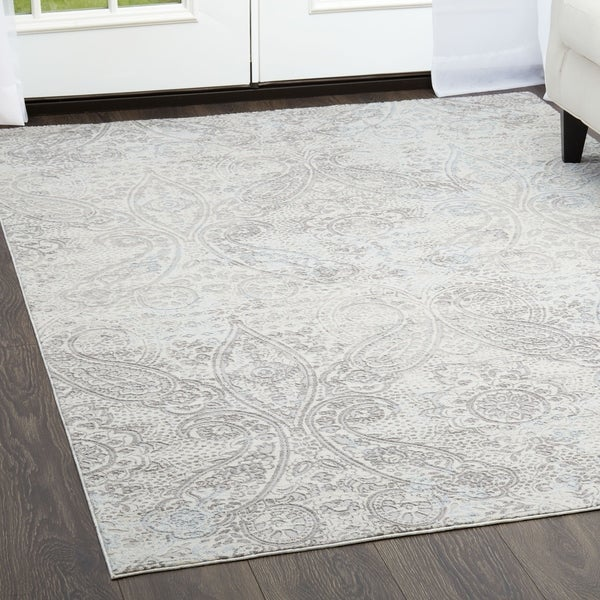 Shop Brooksville Ivory Area Rug By Christian Siriano 7 9