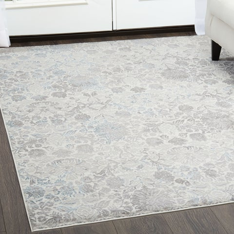 "Brooksville Ivory Area Rug by Christian Siriano - 7'9""x10'2"""