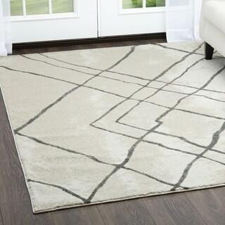 """Roma Gray Area Rug by Christian Siriano - 7'9""""x10'2"""""""