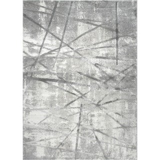 "Roma Gray Area Rug by Christian Siriano - 5'3"" x 7'2"""