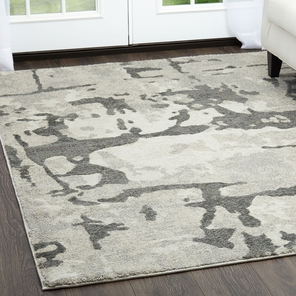 Shop Roma Gray Area Rug By Christian Siriano 5 3 Quot X 7 2