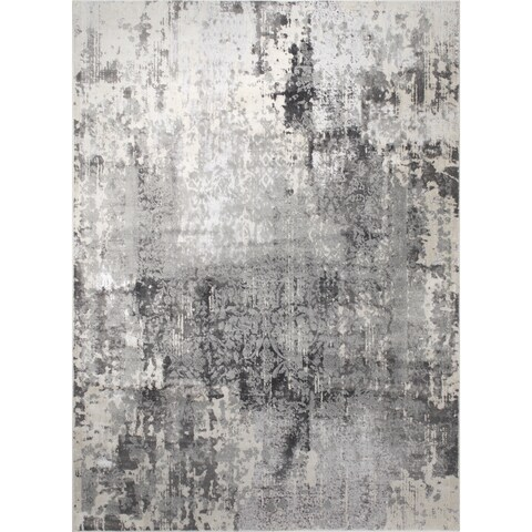 "Jersey Gray Area Rug by Christian Siriano - 7'9""x10'2"""