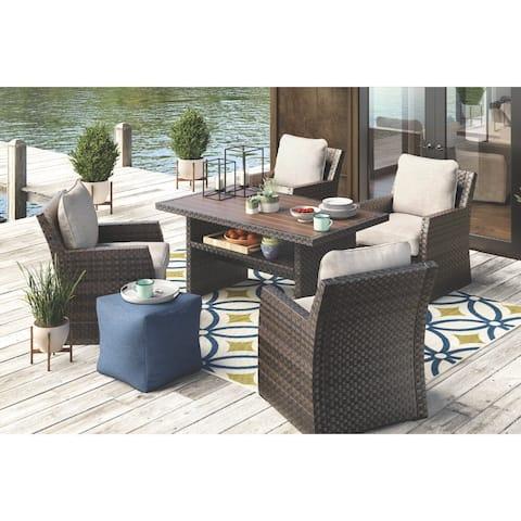 Salceda Outdoor Lounge Chair - Beige