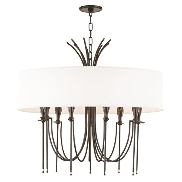 Hudson Valley Damaris 9-light Old Bronze Chandelier