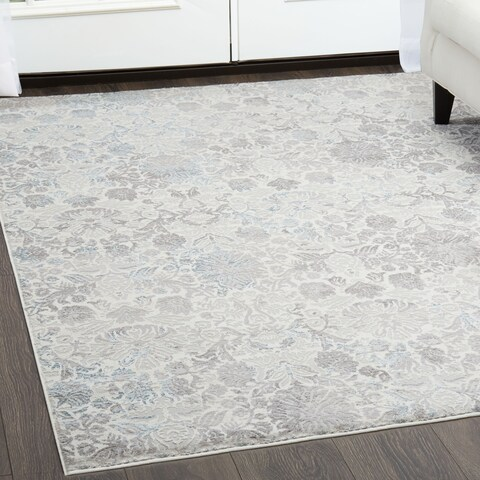 "Brooksville Ivory Area Rug by Christian Siriano - 31""x47"""