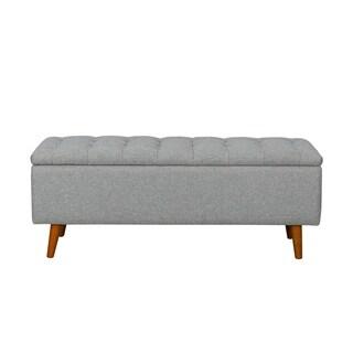 Carson Carrington Ystad Button-Tufted Storage Bench