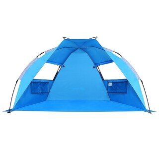 SEMOO 2-Person Instant Beach Shade Tent, Lightweight Water Resistant