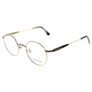 Tom Ford Round FT 5344 028 Unisex Gold Frame Eyeglasses