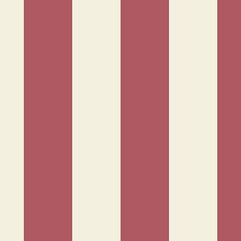 "Manhattan Comfort Frisco 32.7 Ft. x 20.5 In. Vinyl Red 2 1/2"" Striped Wallpaper Covering"
