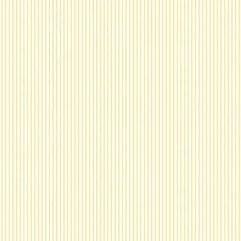 Manhattan Comfort Plano 32.7 Ft. x 20.5 In. Vinyl Yellow Mini Striped Wallpaper Covering