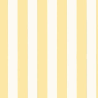 "Manhattan Comfort McKinney 32.7 Ft. x 20.5 In. Vinyl Yellow 1"" Striped Wallpaper Covering"