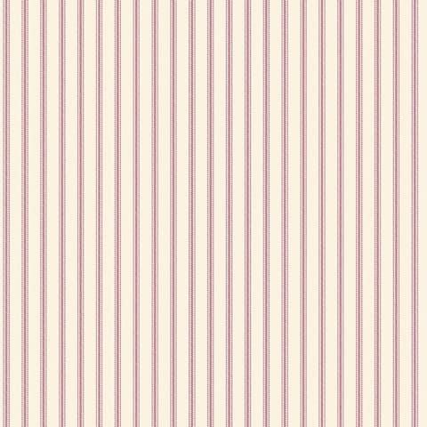 Manhattan Comfort Boynton Beach 32.7 Ft. x 20.5 In. Vinyl Red Mini Pinstripe Wallpaper Covering