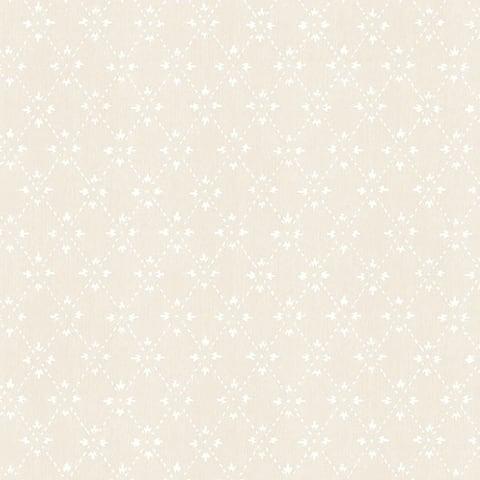 Manhattan Comfort Lakeland 32.7 Ft. x 20.5 In. Vinyl Taupe Spot Trellis Wallpaper Covering