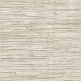 Link to Manhattan Comfort Scranton  32.7 Ft. x 20.5 In. Vinyl Off White Faux Grasscloth Wallpaper Covering - 32.7 Ft. x 20.5 In. Similar Items in Wall Coverings