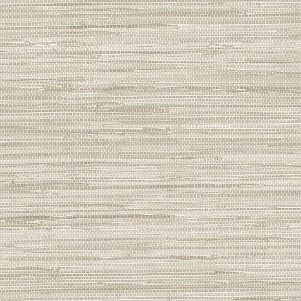 Manhattan Comfort Scranton 32.7 Ft. x 20.5 In. Vinyl Off White Faux Grasscloth Wallpaper Covering - 32.7 Ft. x 20.5 In.. Opens flyout.