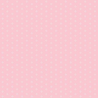 Manhattan Comfort Miami 32.7 Ft. x 20.5 In. Vinyl White On Pink Petite Spot Wallpaper Covering