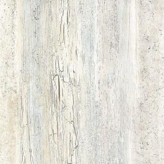 Manhattan Comfort Brockton 32.7 Ft. x 20.5 In. Vinyl Cream Birches Wallpaper Covering