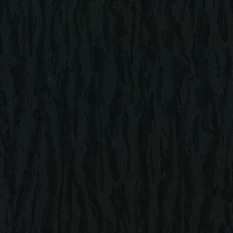 Manhattan Comfort Riverdale 32.7 Ft. x 20.5 In. Vinyl Black Striped Wallpaper Covering