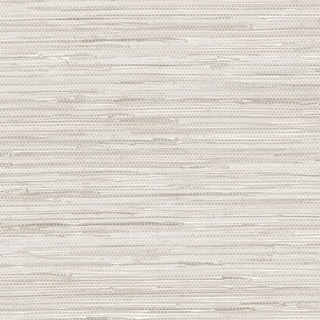 Link to Manhattan Comfort Elmhurst 32.7 Ft. x 20.5 In. Vinyl Grey Horizontal Faux Grasscloth Wallpaper Covering Similar Items in Wall Coverings