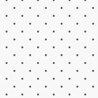 Manhattan Comfort Norfolk 32.7 Ft. x 20.5 In. Vinyl Black Dots Harlequin Wallpaper Covering