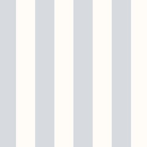 Manhattan Comfort Knoxville 32.7 Ft. x 20.5 In. Vinyl Blue Striped Wallpaper Covering
