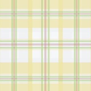Manhattan Comfort Portsmouth 32.7 Ft. x 20.5 In. Vinyl Yellow Plaid Wallpaper Covering
