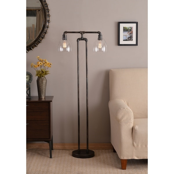 Shop Piper 55 25 Quot Floor Lamp Vintage Metal On Sale